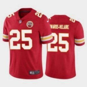 Chiefs Clyde Edwards-Helaire Red Jersey.